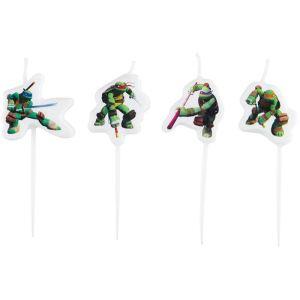 4 bougies Tortues Ninja