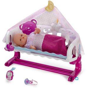 Splash Toys Nenuco dort avec moi et son baby monitor