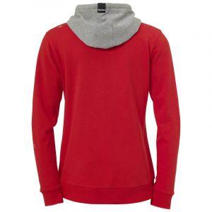 Kettler Core 2.0 Hoodie - Red / Dark Grey Melange - Taille XL