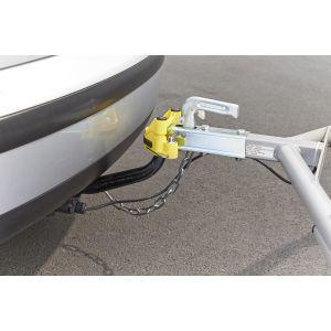 Mottez Antivol fixe pour tête d'attelage A075B
