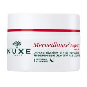 Nuxe Merveillance expert Nuit - Crème régénérante rides installées