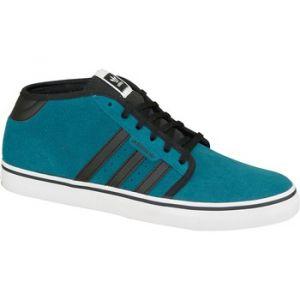 Adidas Seeley Mid D68885, Baskets Hautes Homme, Bleu/Noir/Blanc, 44 2/3 EU