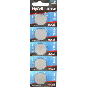 HyCell Pile bouton CR 2450 lithium 3 V 5 pc(s)