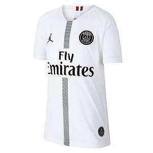 Nike Maillot de football 2018/19 Paris Saint-Germain Stadium Third pour Enfant plus âgé - Blanc - Taille S