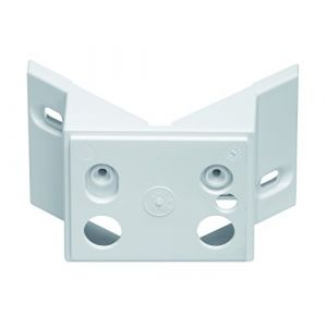 Steinel Support mural d'angle 02 pour HS-FE 150 blanc