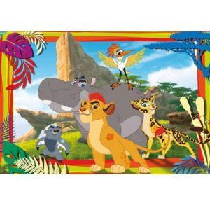 Clementoni Puzzle La garde du Roi Lion 104 pièces