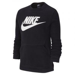 Image de Nike Haut Sportswear Club Fleece pour Enfant plus âgé - Noir - Taille S - Unisex