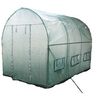 Image de Foresta SRA 3060 PE - Serre de jardin tunnel structure métal 18 m²