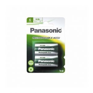 Panasonic Pile rechargeable HIGH CAPACITY C LR14 x2 2800 mAh
