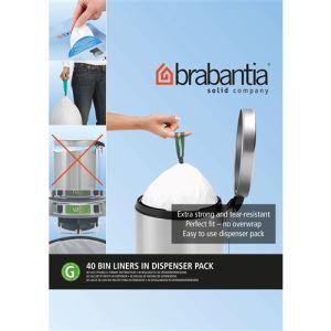 Brabantia 375668 - Distributeur sacs poubelle (30 L)