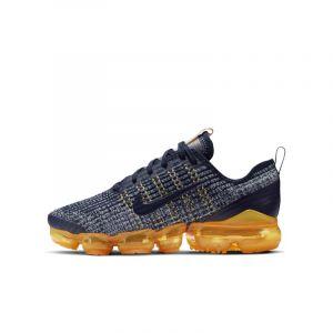 Nike Chaussure Air VaporMax Flyknit 3 pour Enfant plus âgé - Bleu - Taille 35.5 - Unisex