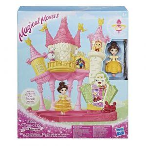 Hasbro Magical Movers Princesses Disney : Belle et salle de bal enchantée