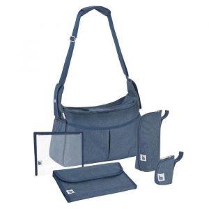 Babymoov Sac à langer Urban bag bleu chiné