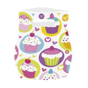 Amscan 6 sachets surprise Cupcake
