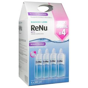 Bausch & Lomb Renu MPS Solution multifonction 4 x 360 ml