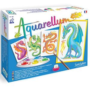 Sentosphère Aquarellum junior : Dragons