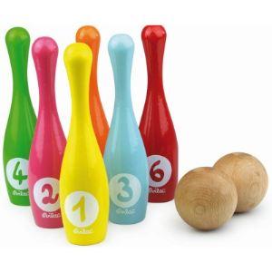 Vilac 4033 - 6 quilles bowling en sac
