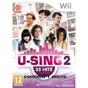U-Sing 2 - Kit jeu + 1 microphone [Wii]