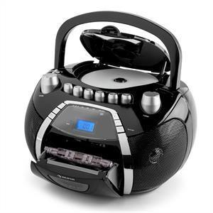 Auna Beeboy - Poste radio stéréo CD MP3 USB