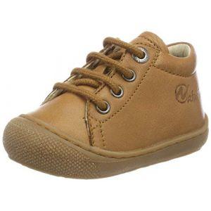 Naturino Cocoon, Chaussures de Gymnastique Mixte bébé, Marron (Cognac 0d06), 22 EU