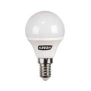 Xavax LED Mini Globe E14 3 8W warmweiß 6 Stück