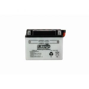 Kyoto Batterie moto - Yb4l-b - L 121mm W 71mm H 93mm - BATTERIE - Yb4l-b - L 121mm W 71mm H 93mm Batterie pour Moto & Quad.