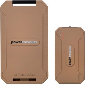Powertraveller Chargeur solaire LiPo Power Traveller Powerbank Solar Extreme Tactical PTL-EXT001 TAC 1000 mA 12000 mAh