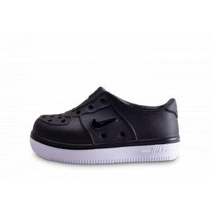 Nike Chaussures enfant Foam Force 1 Bébé Noir - Taille 21,22,25,26,27,23 1/2,19 1/2