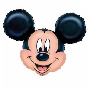 Ballon aluminium tête de Mickey