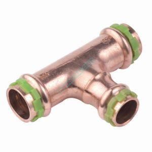 Comap Té réduit SP5130RV à sertir, pour tube cuivre, femelle-femelle-femelle D28-22-22 réf 5130RVW282222