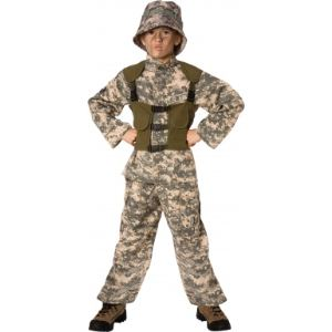 Déguisement de militaire US Army garçon