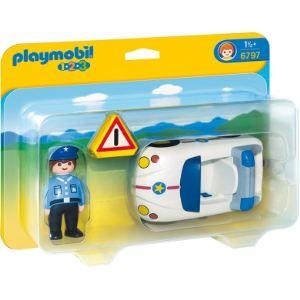 Playmobil 6797 - 1.2.3 : Voiture de police