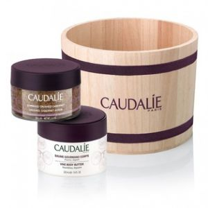 Caudalie Coffret Spa - Gommage Crushed Cabernet et baume gourmand corps