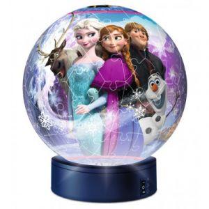 Ravensburger Puzzle Ball 3D avec Led - La Reine des Neiges