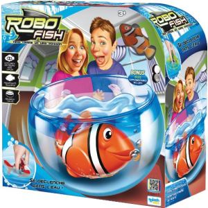 Splash Toys Aquarium Robo Fish avec un poisson