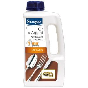 Starwax Nettoyant Express Minute pour or et argent