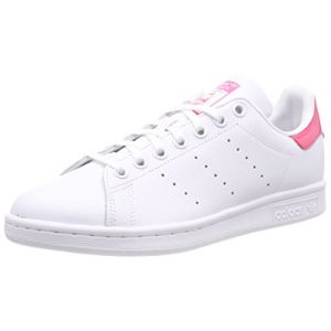 Adidas Stan Smith J 207, Baskets Mixte Adulte, Ecru (Black/White Db1207), 38 EU