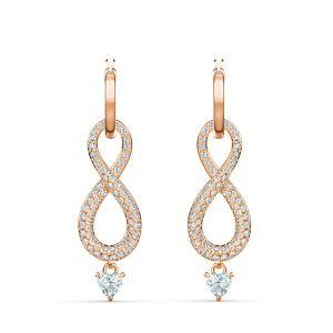 Swarovski Boucles d'oreilles 5512625 - Boucles d'oreilles Or pierre brillante infini Femme