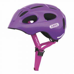Abus Youn I - Casque Vélo Enfant Sparkling Purple Taille M 52-57 cm