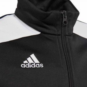 Adidas Regi18 PES - Veste de survêtement - Mixte Enfant - Noir (BLANC) - 5-6ans