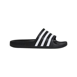 Adidas Claquettes Adilette Aqua Noir - Taille 44 y 2/3