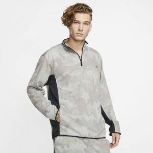Nike Haut en tissu Fleeceà 1/4 de zip Hurley Dri-FIT Naturals pour Homme - Vert - Taille S - Male