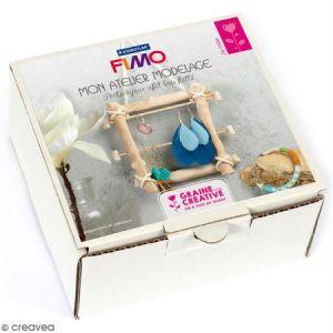 Fimo Coffret Porte-bijoux effet bois flotté