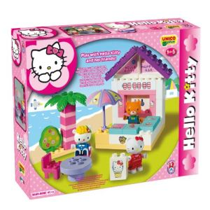 Androni Giocattoli Le Snack plage Hello Kitty 41 pièces