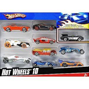 Mattel Hot Wheels - Coffret de 10 voitures (modèle aléatoire)