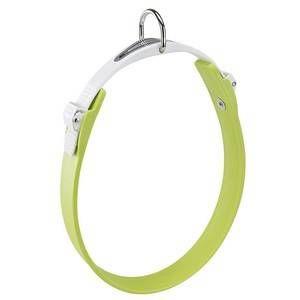 Ferplast Collier Ergoflex C vert à micro-régulation pour chien 15/22