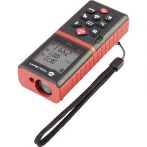 Toolcraft Télémètre laser Plage de mesure (max.) 40 m