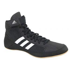 Adidas Bottes de Lutte Havoc pour Hommes, Noir, 46 2/3