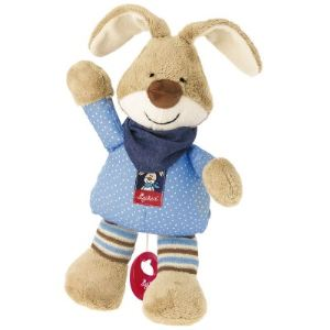 Sigikid Peluche musicale Lapin Semmel Bunny 30 cm