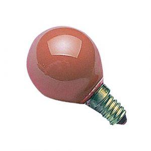 Orbitec Ampoule incandescente sphérique E27 - 15 W - 240 V - vert - boîte - Incandescente sphérique, globe